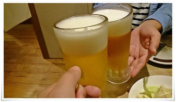 生ビールで乾杯@九州うまいもん酒場 SUSU