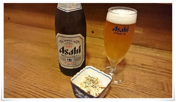 瓶ビールで乾杯@隠れ家ダイニングTOMMY