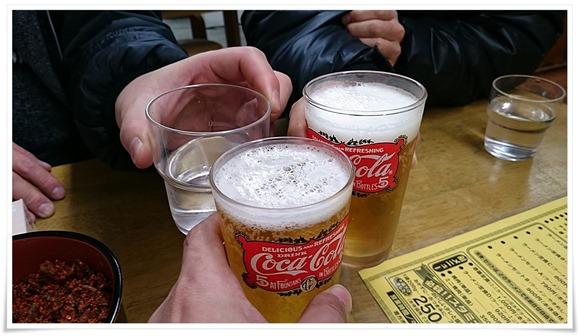 ビールで乾杯@壱番亭(いちばんてい)