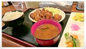 鶏マヨオーロラソース定食@ちゅんちゅん食堂