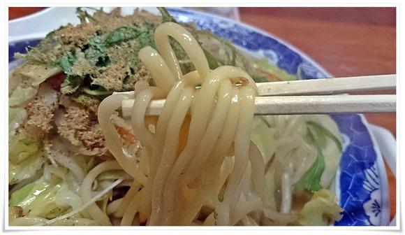 モチモチ柔麺@チャンポン屋しげみ
