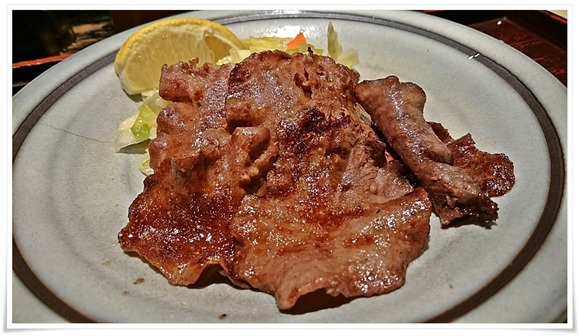 牛タンアップ@牛タン朝定食