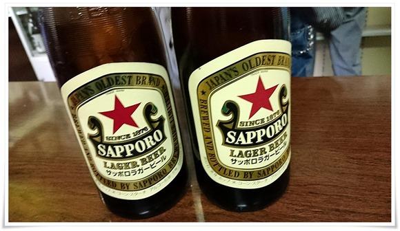 赤星で乾杯@赤壁酒店(角打ち)