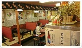 小上がりのテーブル席@白頭山 駅前店