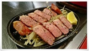 ベーコンステーキ@鉄板焼鶏いしちゃん