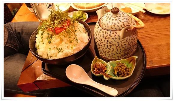 ご飯3合お茶漬けメガ盛り@隠れ家ダイニングTOMMY