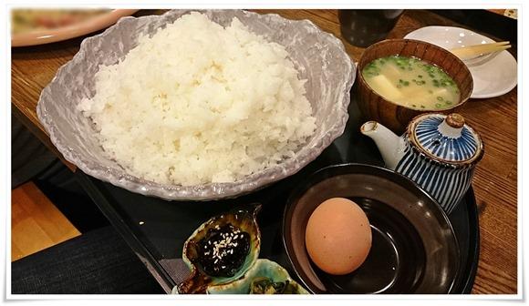 卵かけごはんデカ盛り@隠れ家ダイニングTOMMY