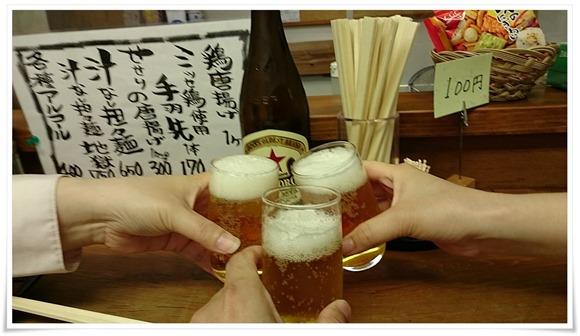 赤星で乾杯@大和 黒崎本店
