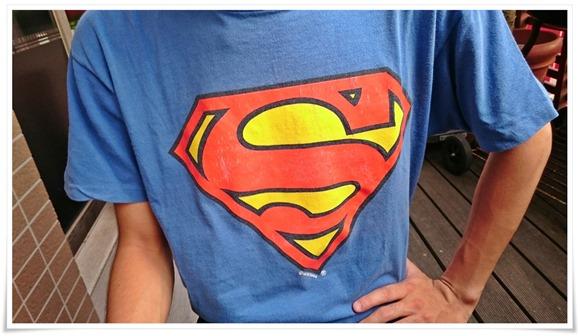 スーパーマン登場@CAFE ITCH(カフェ・イッチ)