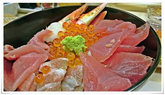 特製マグロ丼@こずえ食堂