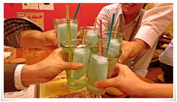 ガリガリ君で乾杯@串処 とり健