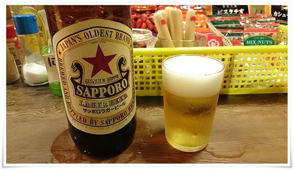 赤星で乾杯@いのくち酒店
