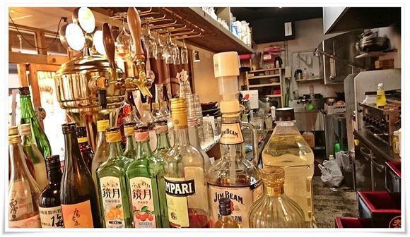 ボトルの数々@炙り家 陣吾郎 大分中央町店