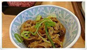 牛小鉢@すき家の朝食