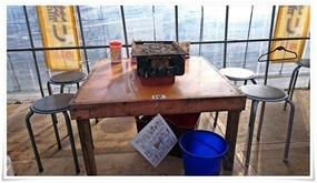 テーブル@海鮮市場 浜焼き 浜太郎