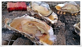 焼き牡蠣@海鮮市場 浜焼き 浜太郎