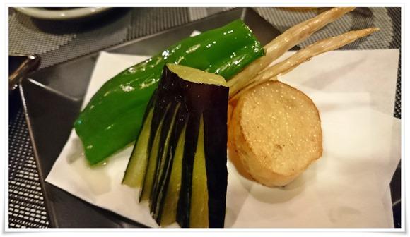 野菜の素揚げ@寿司居酒屋 桜月(おうげつ)