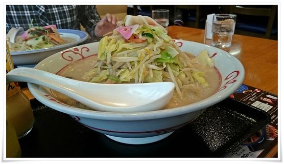 野菜たっぷりちゃんぽん+めん増量@リンガーハット