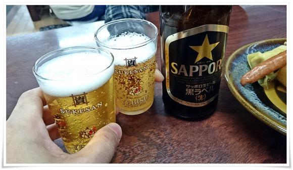 資さんグラスで乾杯@資さんうどん中央町店