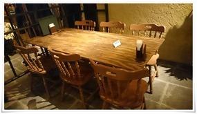 6人テーブル席@鶏工房BARNHOF(バーンホーフ)