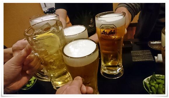 まずは乾杯@居酒屋ぼんばぁ