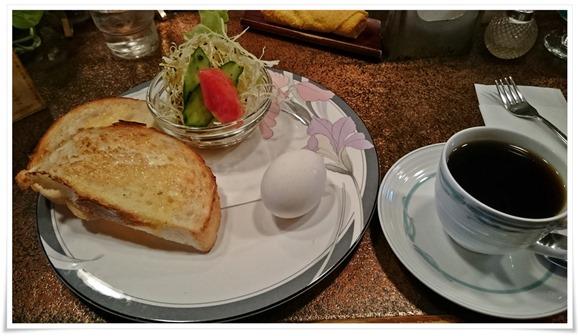 モーニングセット登場@喫茶かわい