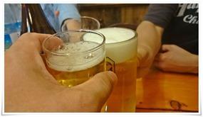 ビールで乾杯@一貫(イッカン)