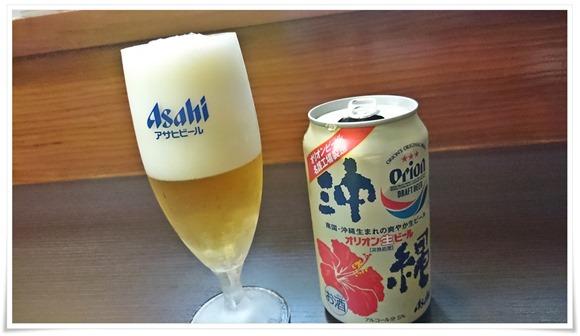 オリオンビールで乾杯@裏裏(おもてなし)
