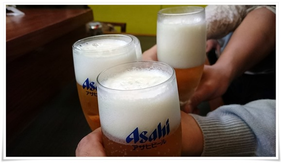 ガッツリ乾杯@裏裏(おもてなし)