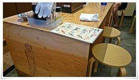 簡易なテーブル@玄さん八幡店