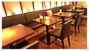 テーブル席@106サウスインディアン