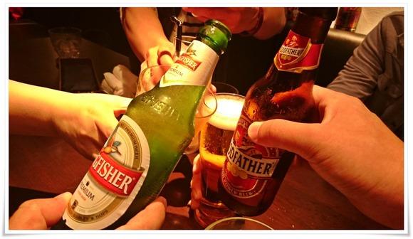 インドビールで乾杯@106サウスインディアン