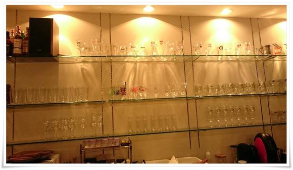 グラスの数々@Beer BARU Carlotta