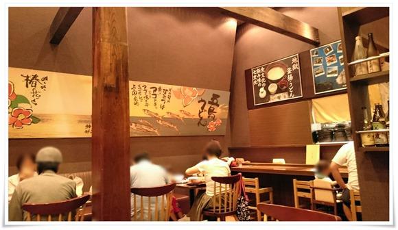 店内の雰囲気@五島うどん 酒処 ごしま
