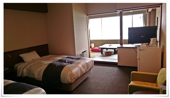 部屋全景@長崎ホテル清風