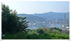 豪華客船入港@長崎ホテル清風