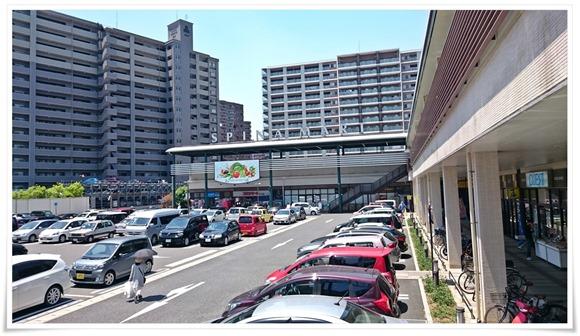 駐車場@出雲そば スピナ大手町店