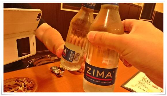 ZIMAで乾杯@隠れ家ダイニングTOMMY