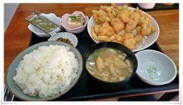 とり肉天ぷら定食@龍昌