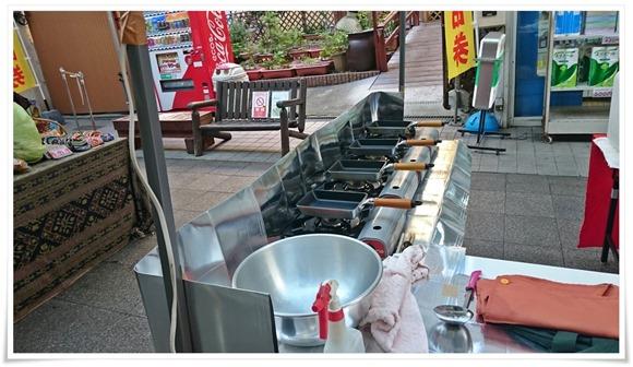 焼きコーナー@まつり起業祭八幡2017