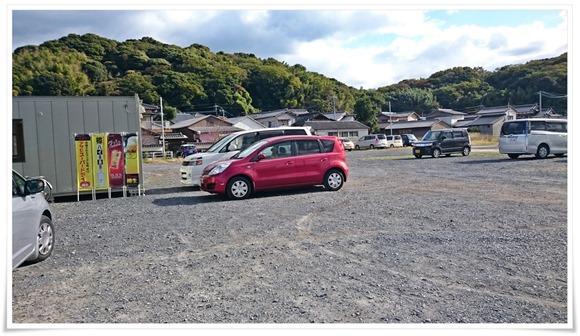 駐車場@蓑島カキ直売所