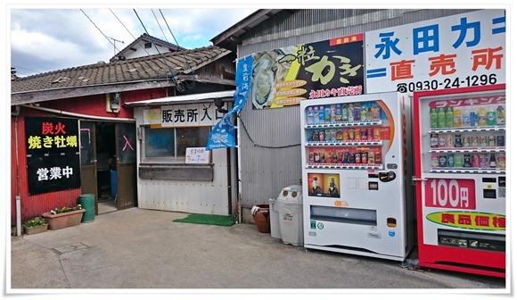 行橋・蓑島漁港「永田カキ直売所」de豊前海一粒かきを喰らう!カキ小屋シーズン突入ですね。