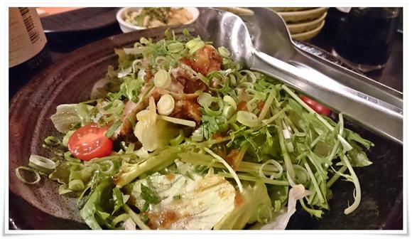 鶏のたたきサラダ@炭焼小屋 小倉京町店