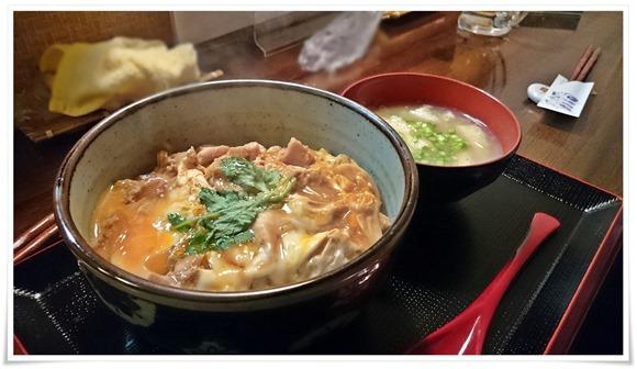 親子丼登場@遊酒食堂 宇都宮