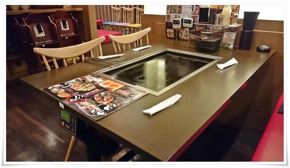 テーブル席@お好み焼本舗 フレスポ黒崎店