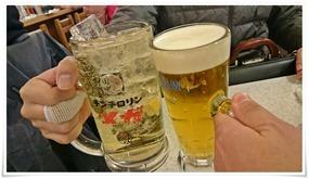 メガハイボールで乾杯@串カツ田中 KITTE博多店