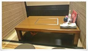 掘り炬燵式テーブル席@美なみ