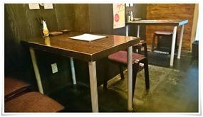 テーブル席@とんふらい