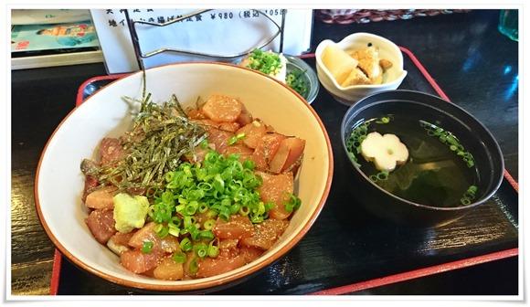 りゅうきゅう丼定食@海鮮いづつ
