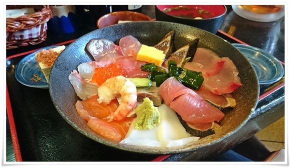 海鮮丼定食@海鮮いづつ
